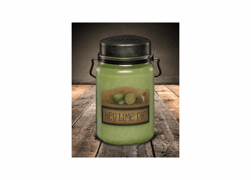 _DISCONTINUED - Key Lime Pie 26 oz. McCall's Classic Jar Candle