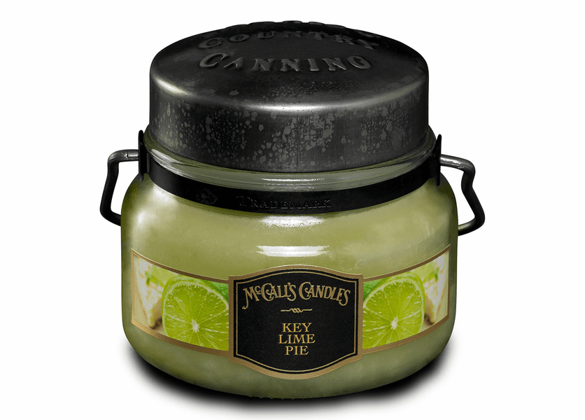 _DISCONTINUED - Key Lime Pie 8 oz. McCall's Double Wick Classic Jar Candle