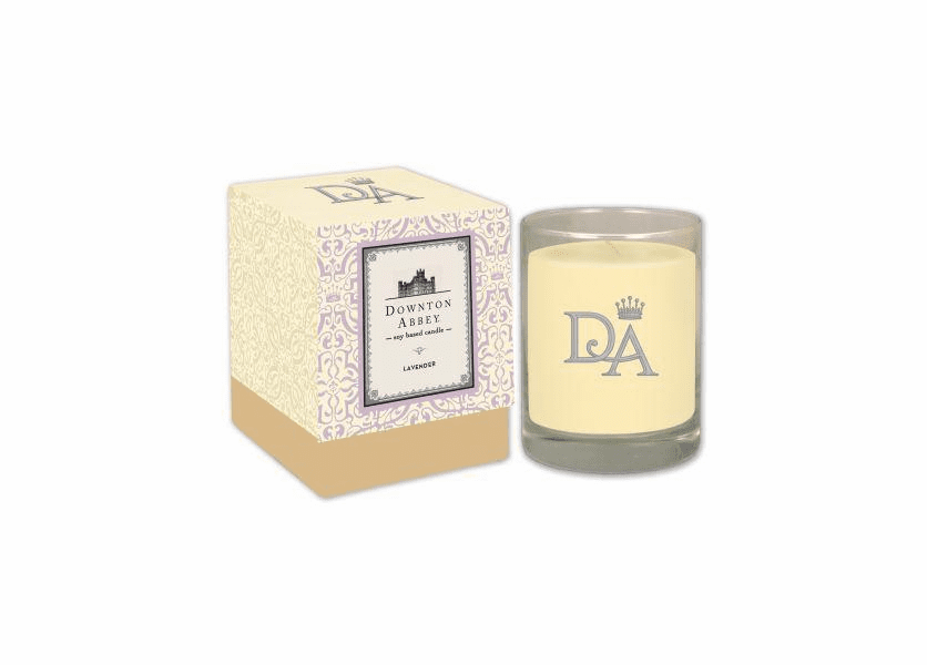 _DISCONTINUED - Lavender 10 oz. Downton Abbey Collection Premium Boxed Candle by Boulevard