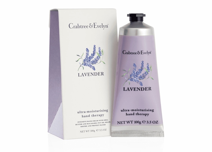 _DISCONTINUED - Lavender 100g Ultra-Moisturizing Hand Therapy by Crabtree & Evelyn