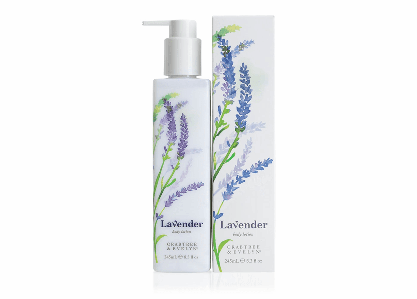 _DISCONTINUED - Lavender 245mL Body Lotion by Crabtree & Evelyn