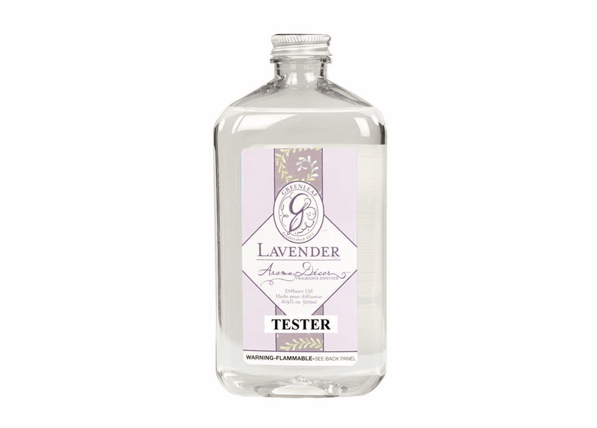 _DISCONTINUED - Lavender 500ml Aroma Decor Fragrance Lamp Oil by Greenleaf
