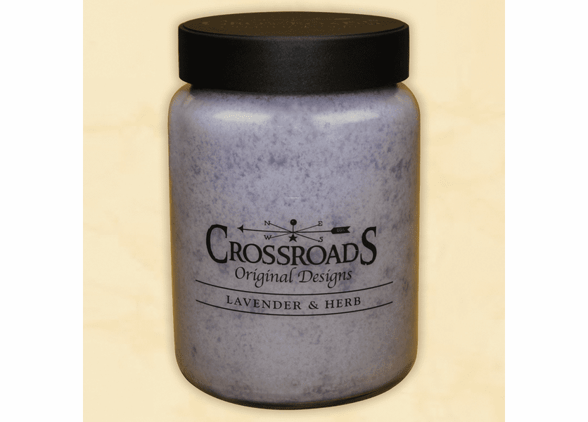 _DISCONTINUED - Lavender and Herb 26 oz. Crossroads Candle