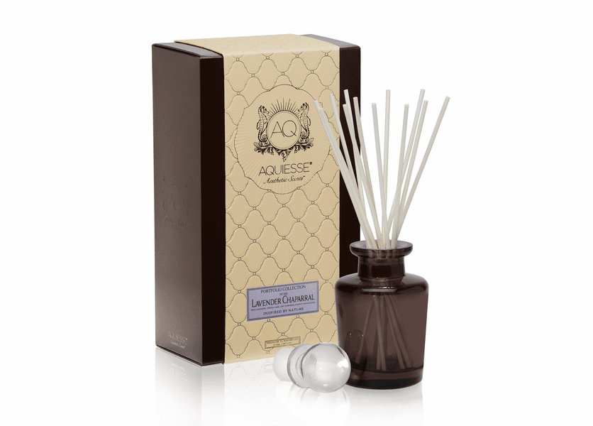 _DISCONTINUED - Lavender Chaparral Reed Diffuser Set by Aquiesse