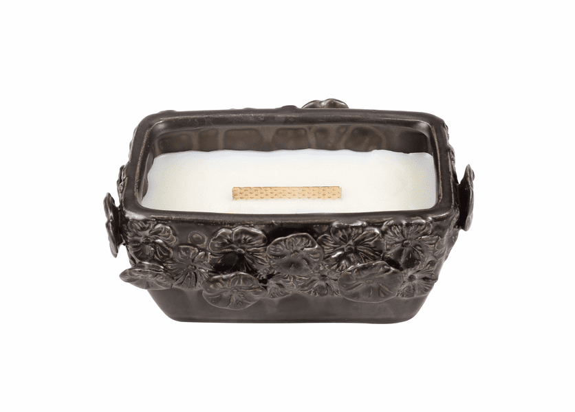 _DISCONTINUED - Lavender Spa Garden Terrace Medium Rectangle WoodWick Candle with HearthWick Flame