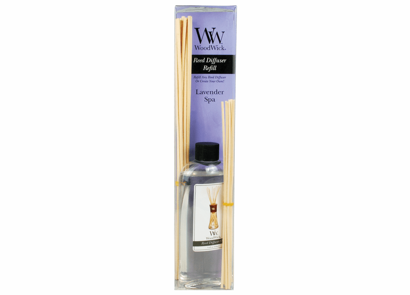 _DISCONTINUED - Lavender Spa WoodWick 7.4 oz. Reed Diffuser REFILL