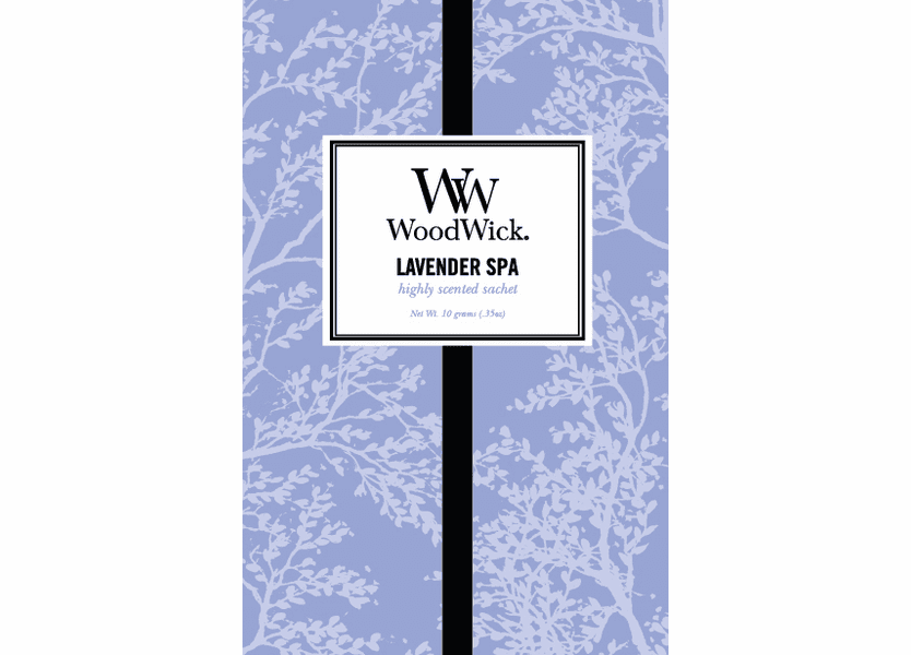 _DISCONTINUED - Lavender Spa WoodWick Sachet