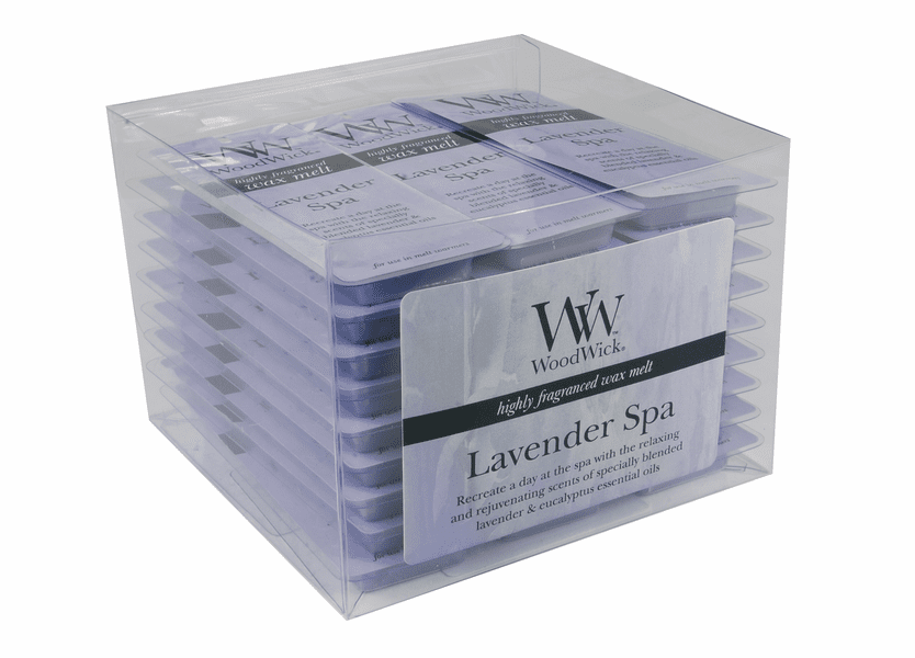 _DISCONTINUED - Lavender Spa WoodWick Wax Melt