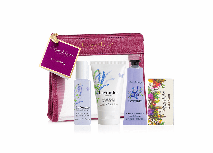 _DISCONTINUED - Lavender Traveller - Holiday Collection by Crabtree & Evelyn
