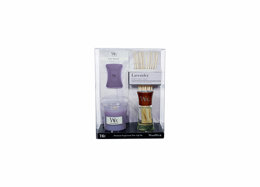 _DISCONTINUED - Lavender WoodWick Trio Gift Set