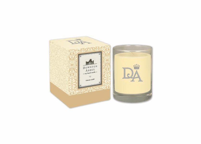 _DISCONTINUED - Lemon Curd 10 oz. Downton Abbey Collection Premium Boxed Candle by Boulevard