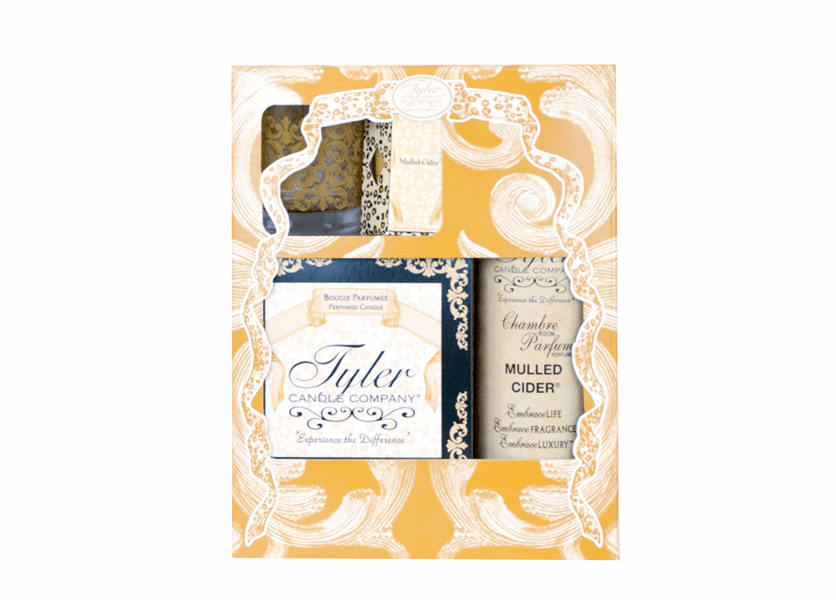 _DISCONTINUED - *Mulled Cider Glamorous Gift Suite II by Tyler Candle Company