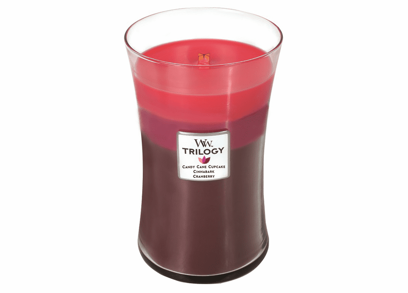 _DISCONTINUED - *Peace & Joy WoodWick Trilogy Candle 22oz