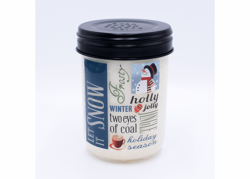 _DISCONTINUED_Peppermint Twist 12 oz. Holiday Vintage Jar Swan Creek Candle