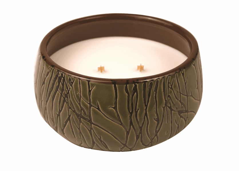 _DISCONTINUED - *Perfect Pear Medium Bowl Premium WoodWick Candle