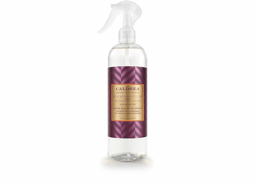 _DISCONTINUED - *Plum Bergamot Clove Limited Edition 16 oz. Linen & Room Spray by Caldrea