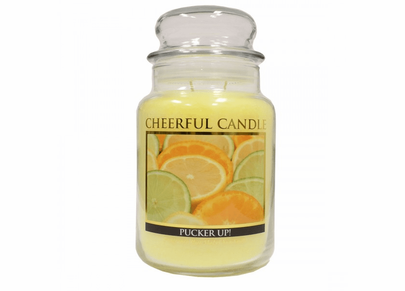 _DISCONTINUED_Pucker Up! 24 oz. Cheerful Candle by A Cheerful Giver