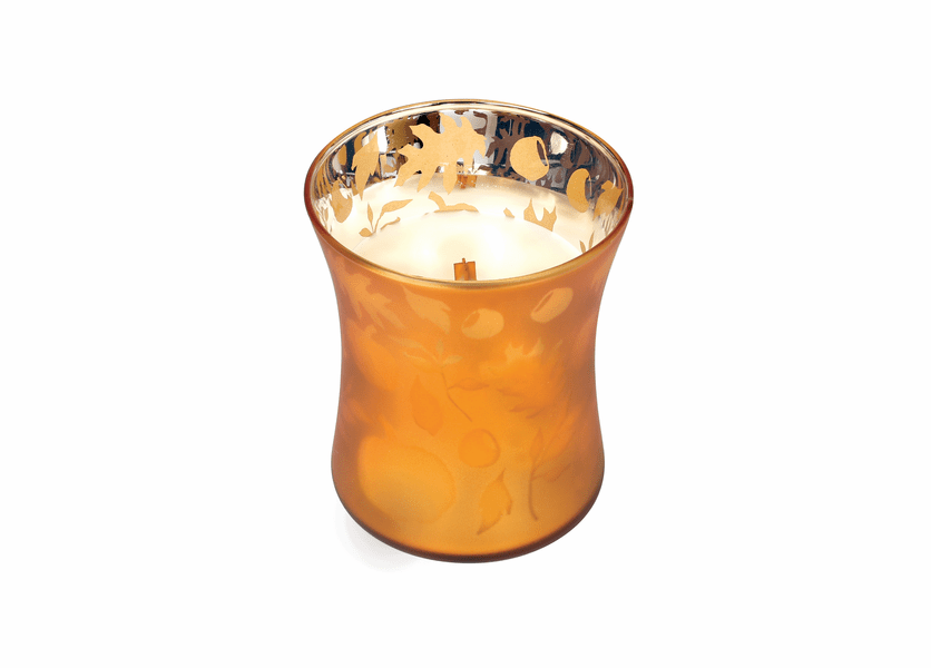 _DISCONTINUED - *Pumpkin Butter 10 oz. WoodWick Dancing Glass Candle