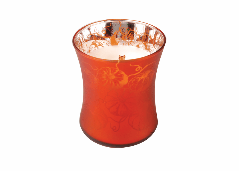 _DISCONTINUED - *Pumpkin Butter 10oz. WoodWick Dancing Glass Candle