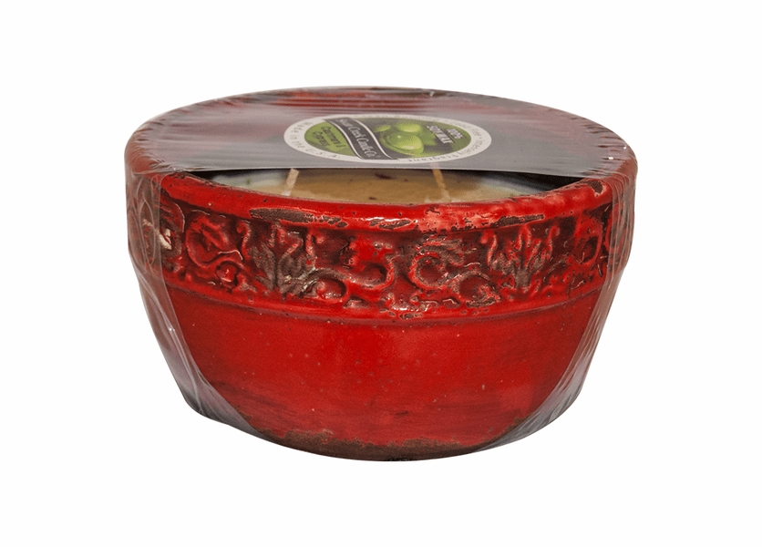 _DISCONTINUED_Red Currant Swan Creek Vintage Bowl (Color: Red)