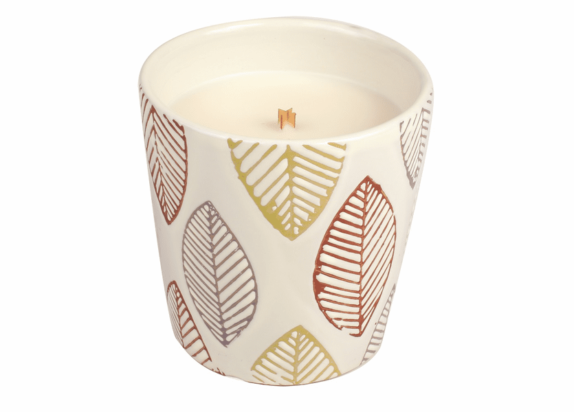 _DISCONTINUED - *Redwood Fall Leaf Tumbler WoodWick Candle