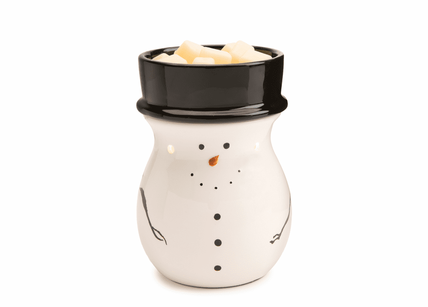 _DISCONTINUED - _TEMPORARILY OUT OF STOCK - Snowman Round Illumination Fragrance Warmer