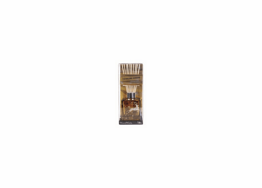 _DISCONTINUED - *Twinkling Sweets Dancing Glass WoodWick 5 oz. Reed Diffuser