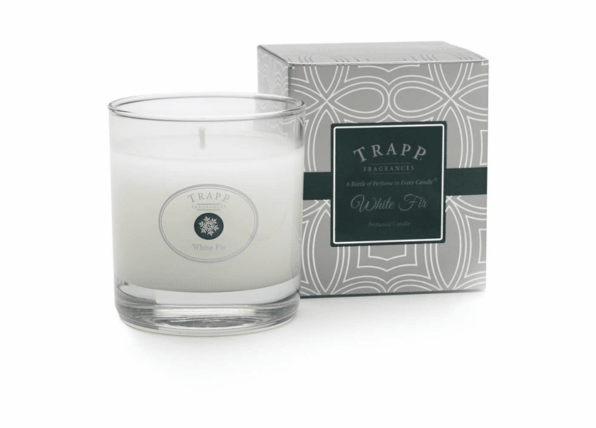 _DISCONTINUED - *White Fir Seasonal 7 oz. Large Poured Trapp Candle