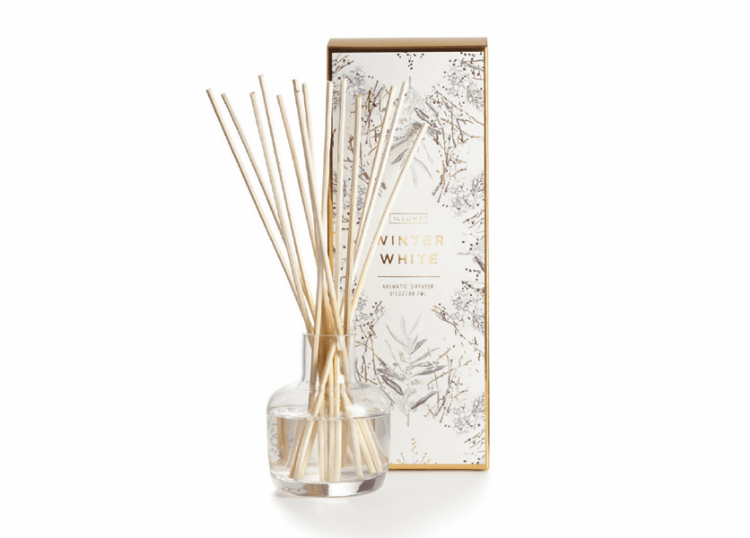 _DISCONTINUED - *Winter White Essential Reed Diffuser by Illume Candle