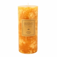 Dubai Tall Pillar Candle by Archipelago