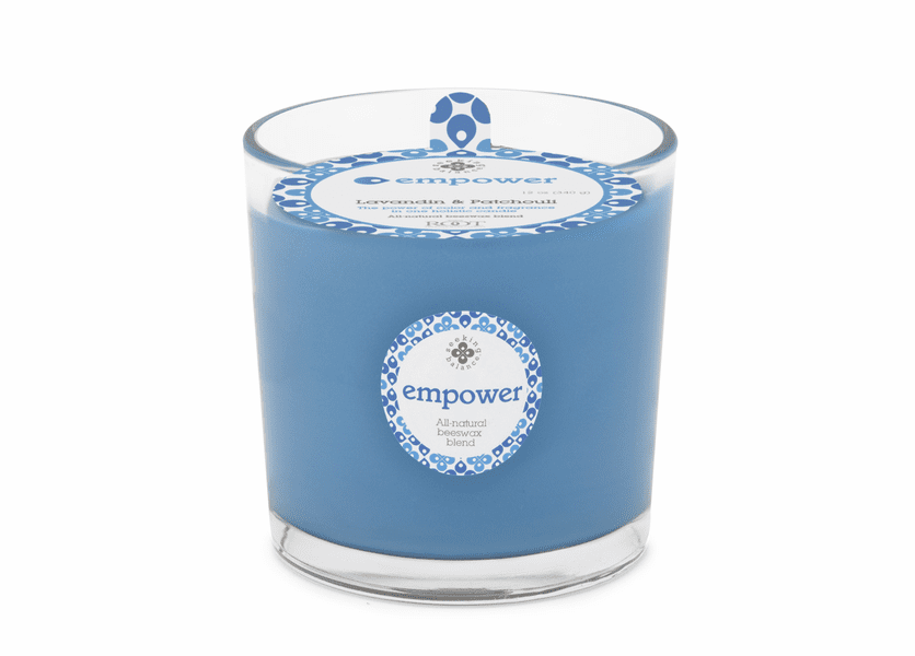 Empower (Lavadin & Patchouli) 12 oz. Seeking Balance Spa Candle by Root
