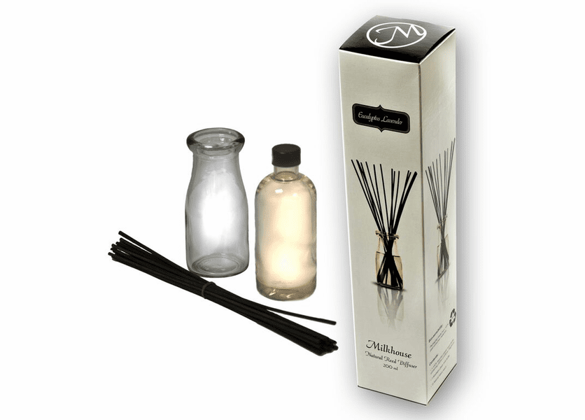 Eucalyptus Lavender Reed Diffuser by Milkhouse Candle Creamery