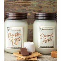 NEW! - Fall & Holiday Limited Edition Mason Jar Candles by Milkhouse Candle Creamery