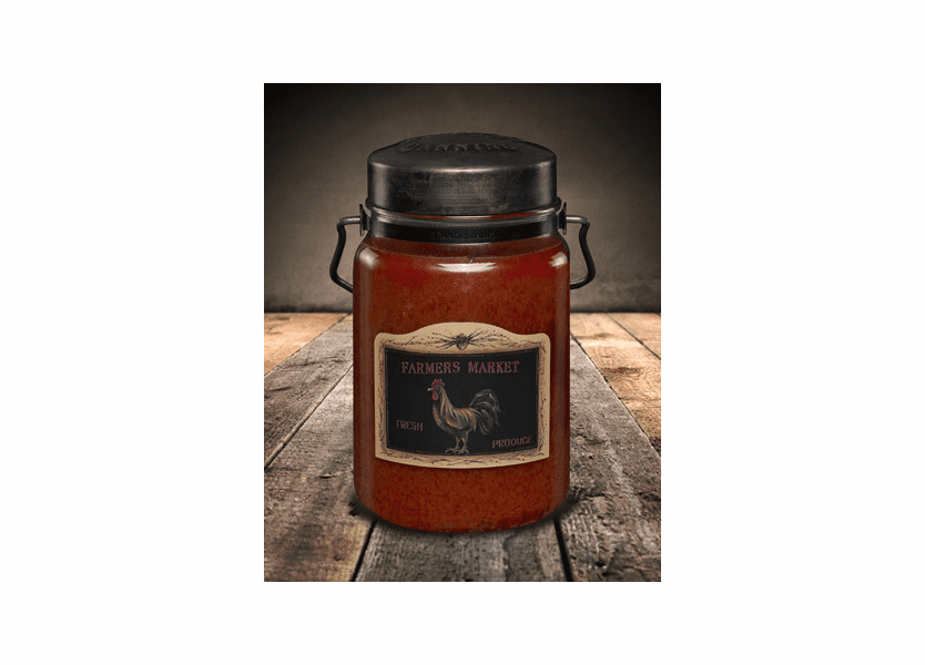 Farmer's Market 26 oz. McCall's Classic Jar Candle
