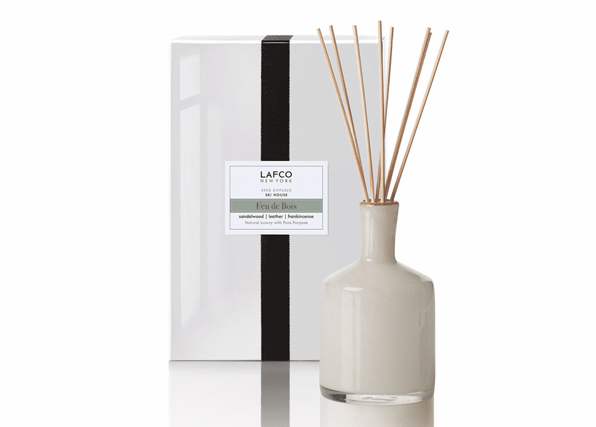 Feu de Bois 15 oz. Reed Diffuser by Lafco New York