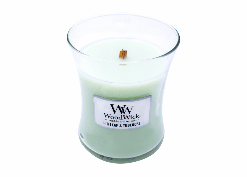 Fig Leaf & Tuberose WoodWick Candle 10 oz.