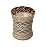 NEW! - Fireside Dancing Glass WoodWick Candle