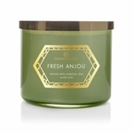 Fresh Anjou 14.5 oz. Luxe Trend Collection Colonial Candle | Luxe Collection Colonial Candle