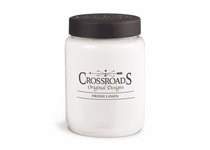 Fresh Linen 26 oz. Crossroads Candle