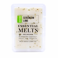 Geranium Lime 4.5 oz. Swan Creek Candle Essential Melts