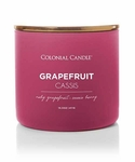 Grapefruit Cassis 14.5 oz. Pop of Color Trend Collection Colonial Candle | Pop of Color Collection Colonial Candle