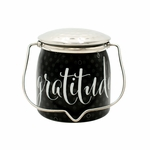 CLOSEOUT - Gratitude Jar 16 oz. Sentiments Special Edition Wrapped Butter Jar by Milkhouse Candle Creamery | Milkhouse Candle Creamery Closeouts