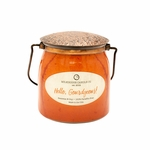 CLOSEOUT - Hello, Gourdgeous! Ltd Edition 16 oz. Wrapped Butter Jar by Milkhouse Candle Creamery | Milkhouse Candle Creamery Closeouts