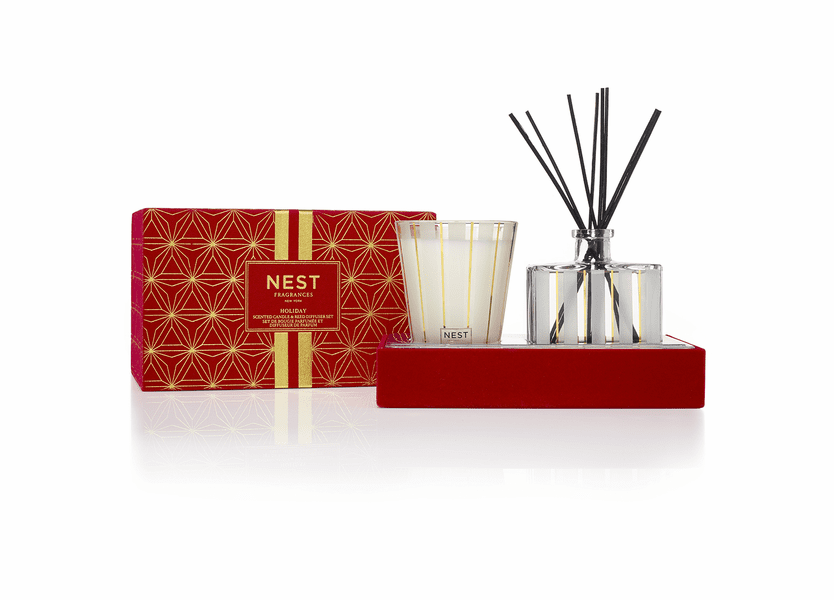*Holiday Classic Candle & Diffuser Set by NEST
