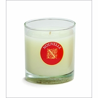 Holiday Signature Glass Nouvelle Candle