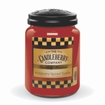 CLOSEOUT - Hollyberry Spiced Toddy 26 oz. Large Jar Candleberry Candle | Candleberry Candle Closeouts