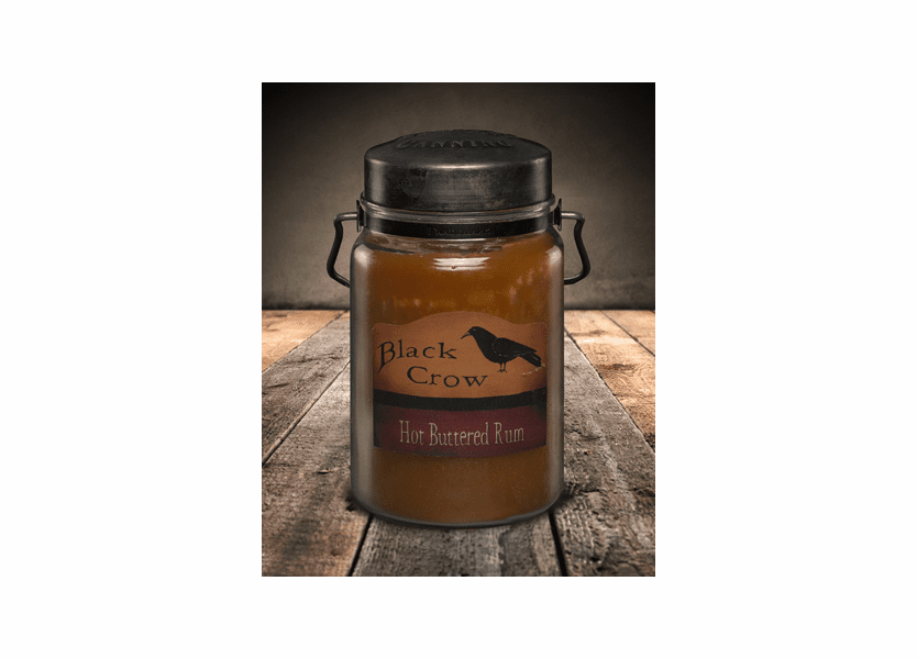 Hot Buttered Rum 26 oz. McCall's Classic Jar Candle