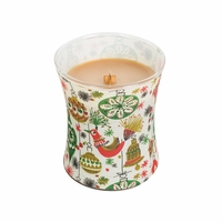 NEW! - Hot Toddy Decal Glass WoodWick Candle