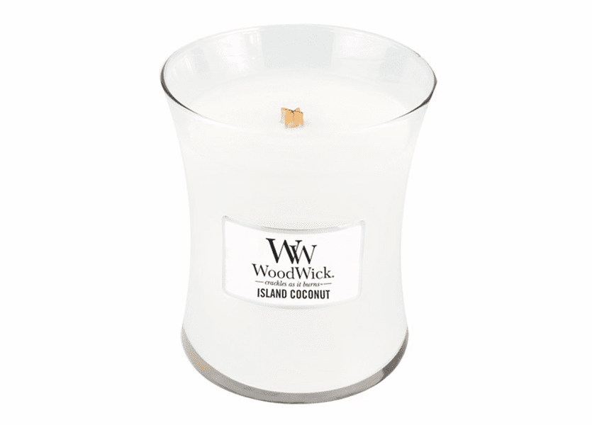 Island Coconut WoodWick Candle 10 oz.