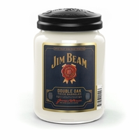 Jim Beam Double Oak 26 oz. Large Jar Candleberry Candle